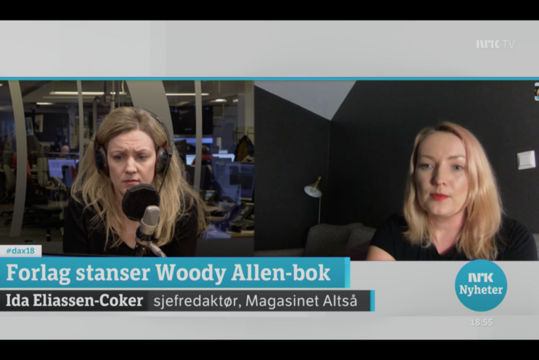Dagsnytt 18: Forlag stanser Woody Allen-bok