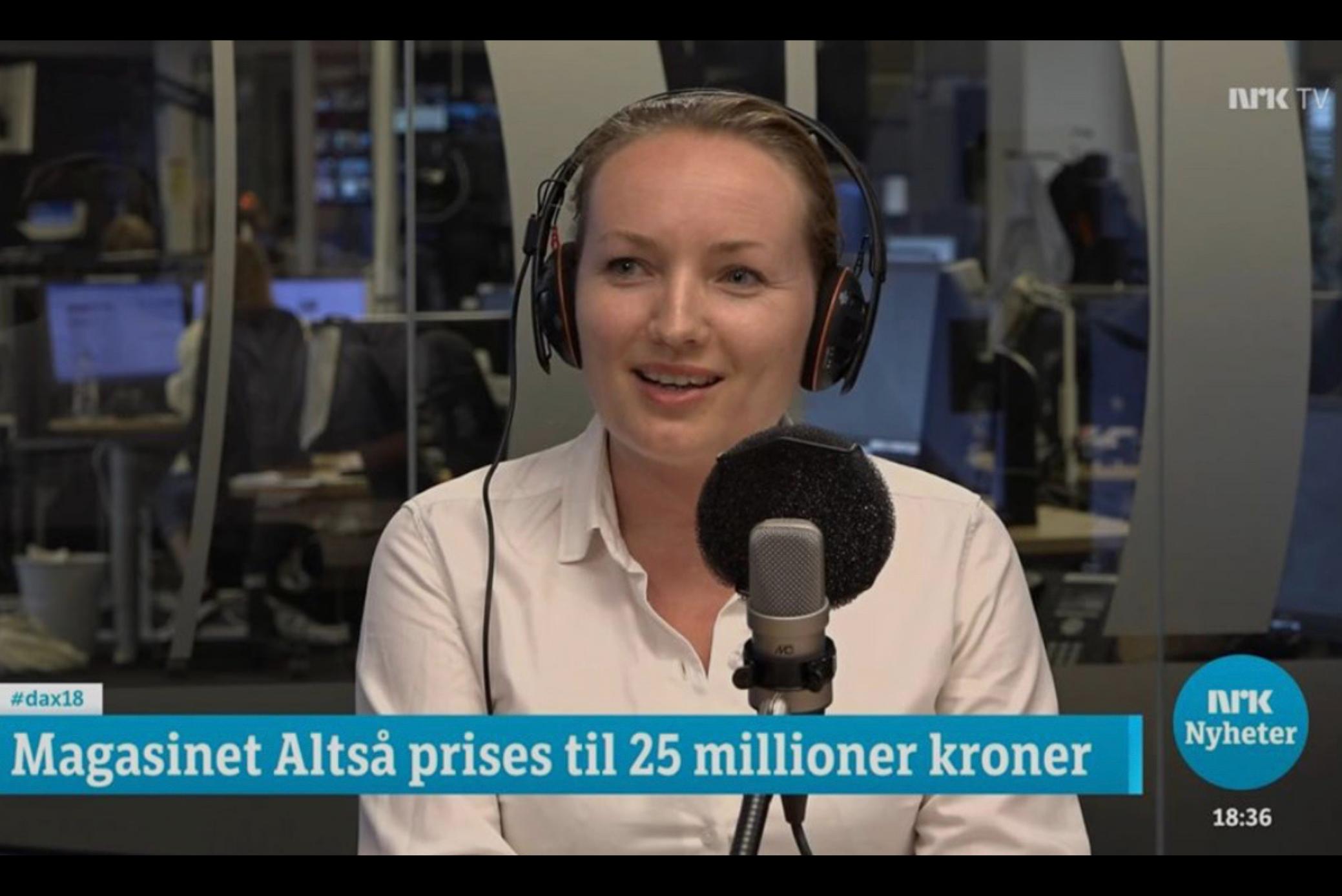 ALTSÅ prises til 25 millioner