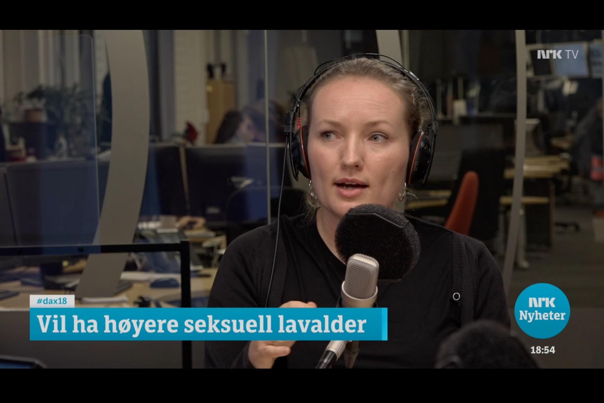 Dagsnytt 18: Vil ha høyere seksuell lavalder