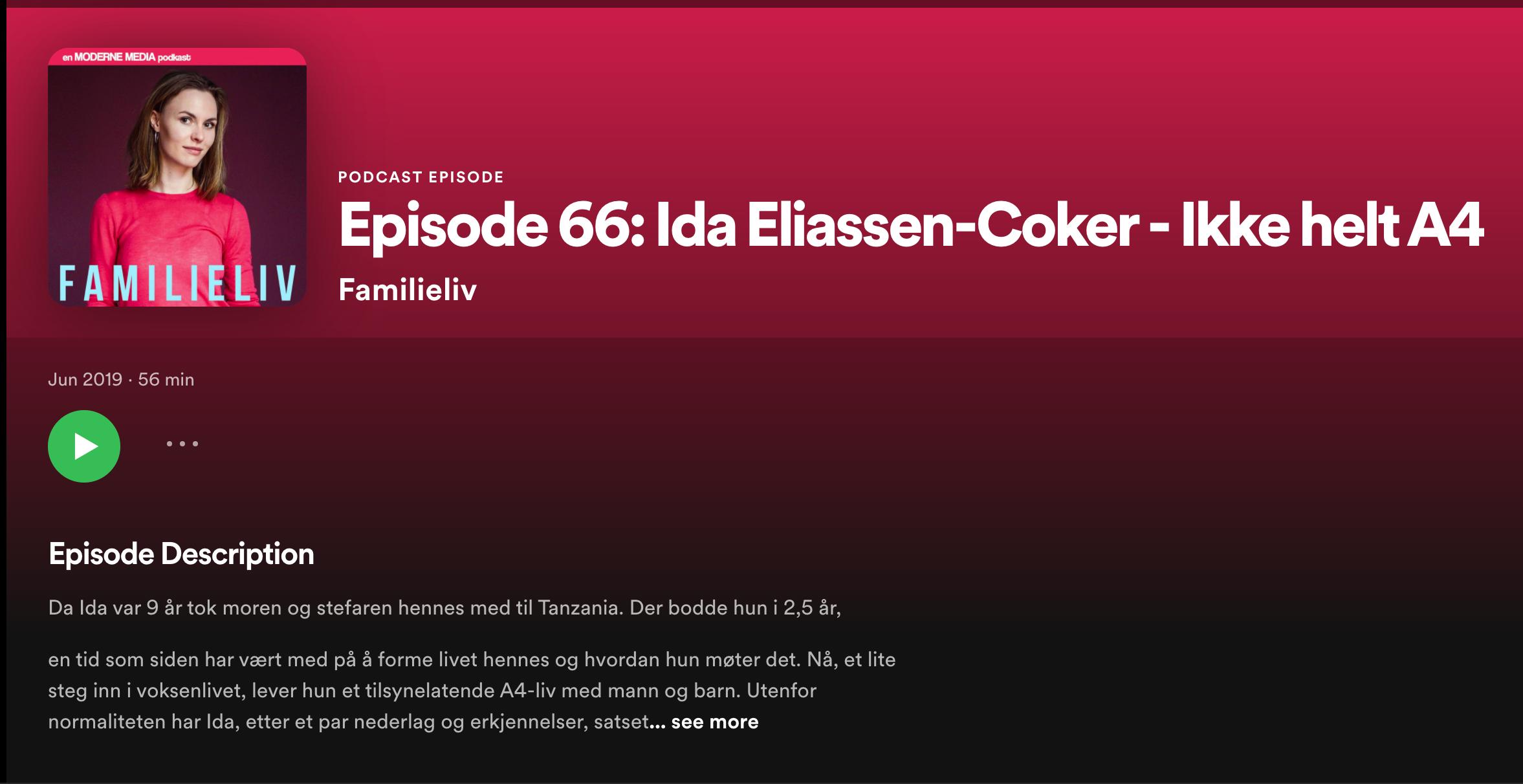 Podcastintervju med Oda Weider-Krog